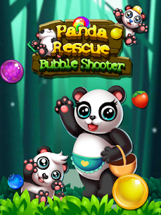 Panda Jungle Bubble Shooter - náhled