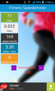 Fitness Speedometer- screenshot thumbnail