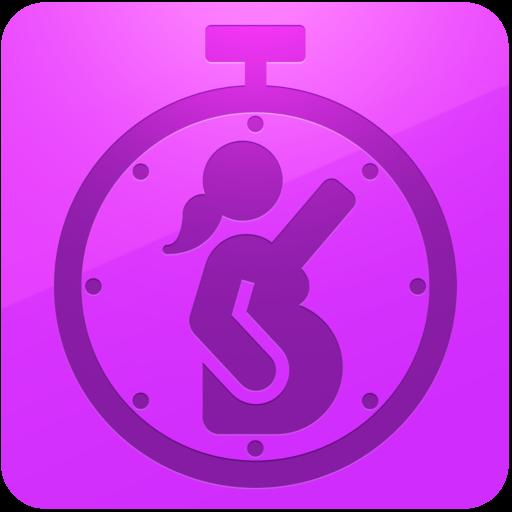 יולדת תזמון צירים (app)