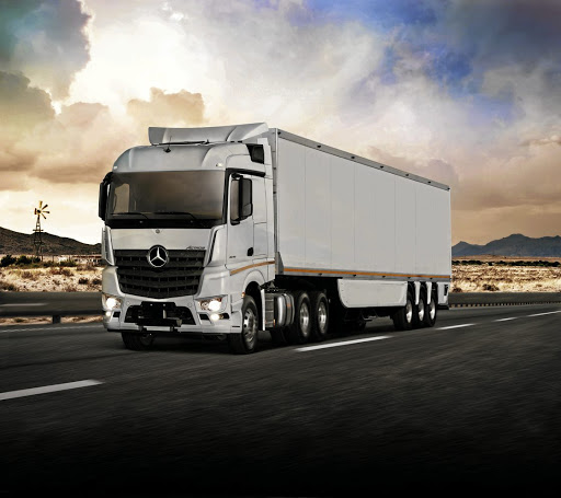 The new Mercedes Actros has finally arrived in SA after a delay of five years due to poor fuel quality. Picture: MERCEDES-BENZ SA