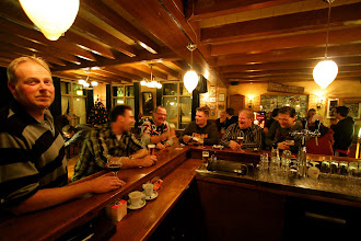 Photo: Serie Op Cafe. Chaamse Wapen, Chaam. Ad en Christianne de Beer. Foto Leon Krijnen.