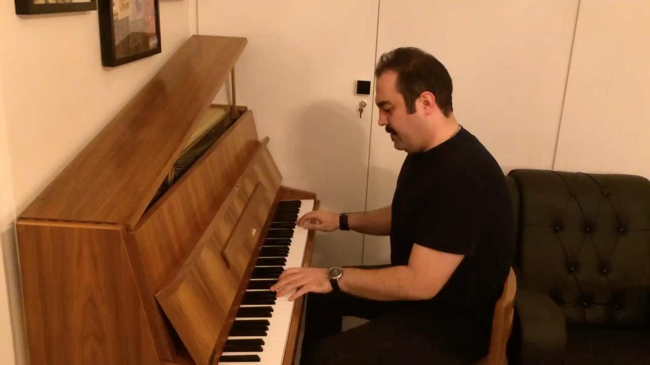 آهنگ فولکلور تاجیکی احسان نیک پیانو