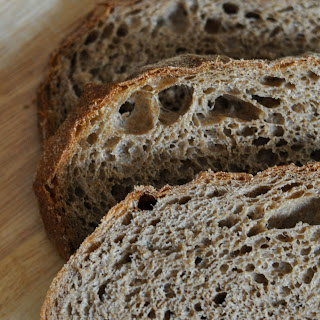 100% Sprouted Whole Wheat No-Knead Bread