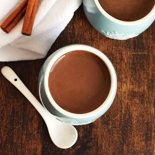 Warm Carob Milk (with Spiced Option).