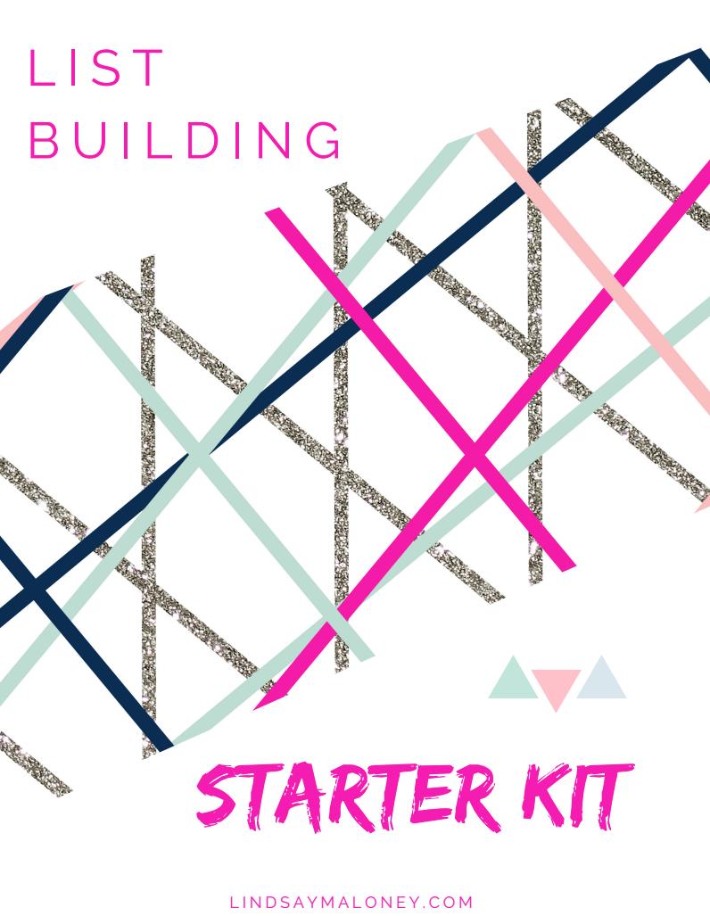 List Building Starter Kit