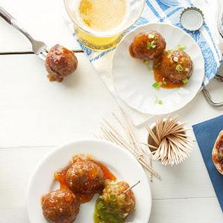 Chicken-Chorizo Meatballs.