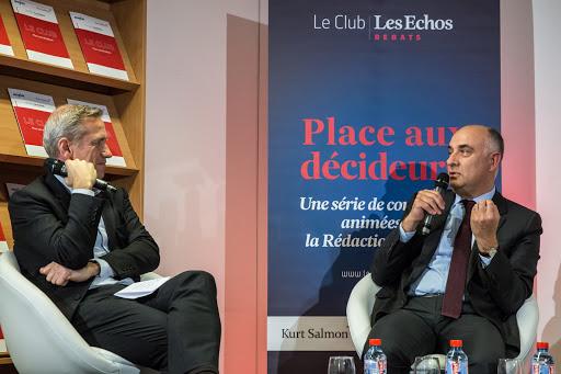 Club les echos débats avec Laurent MOREL Président du directoire de KLÉPIERRE