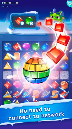 Jewel Blast - Puzzle Legend 35.0 APK MOD screenshots 1
