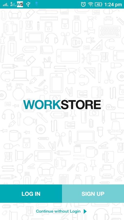 WorkStore- screenshot