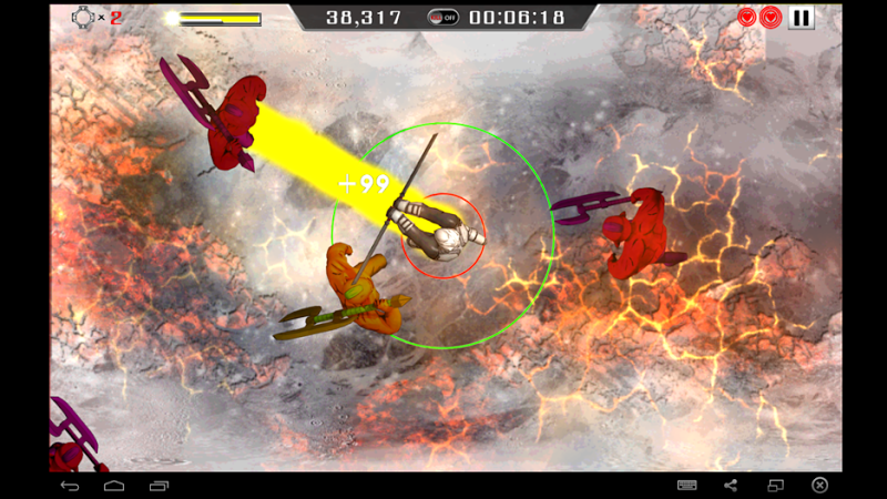 Скриншот Meninjer - The Last Stand