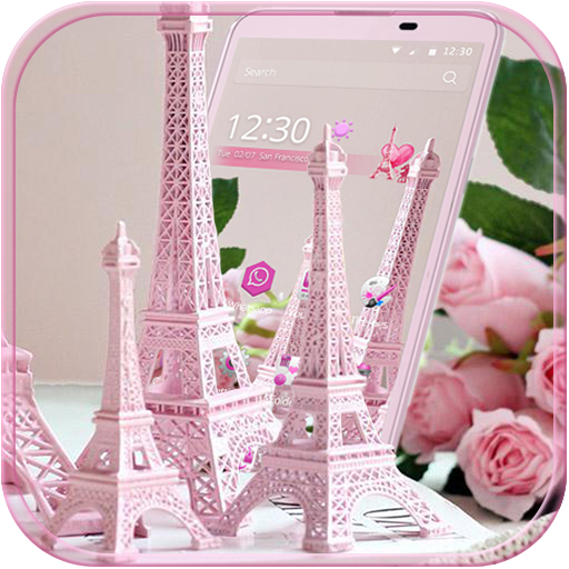 Eiffel Tower Pink Theme