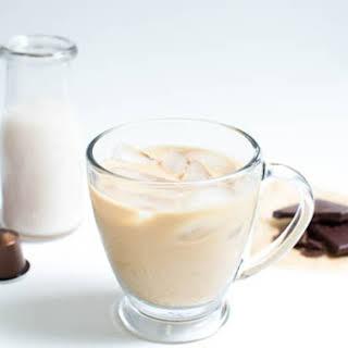 Dark Chocolate Coconut Iced Coffee.