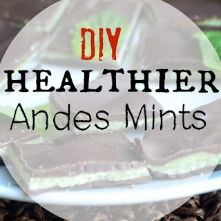 Homemade Healthier Andes Mints