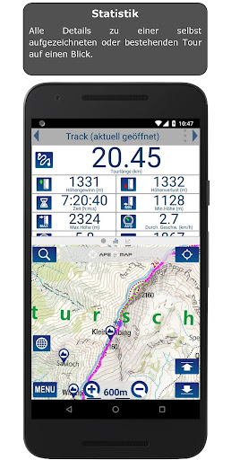 Outdoor and Hiking Navigation  screenshots 7