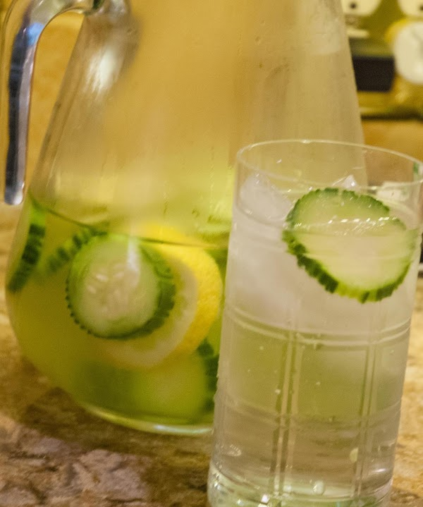 Summer Cucumber, Lemon, And Mint Spa Water Recipe
