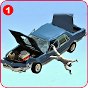 Car Crash Simulator :Mustang GT500 Beamng Accident icon