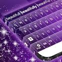 Keyboard Free Purple icon