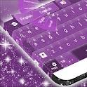 紫色绚丽键盘 icon