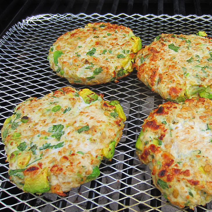 Grilled Avocado Chicken Burger