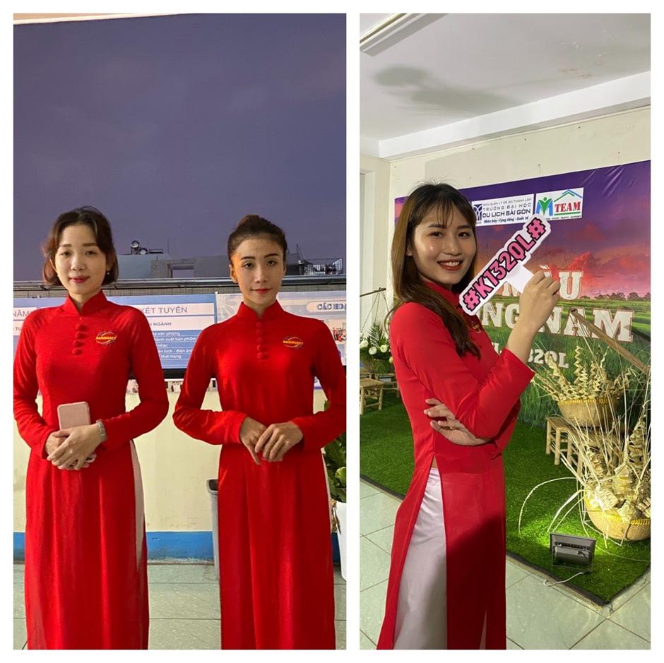 Sự kiện Báo cáo kết thúc môn Tổ chức sự kiện trong Du lịch của lớp K132QH - K132QL SaigonACT
