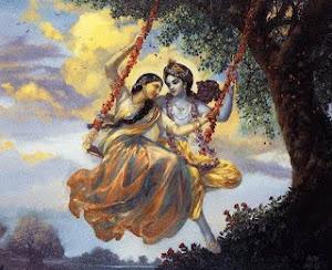 Radha Krishna - by Indradyumna Swami