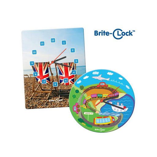 Brite Clock™ Full Colour Printed
