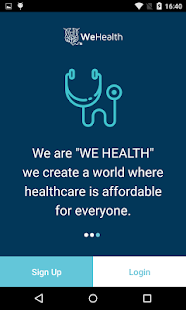 WeHealth UrgentCare App- screenshot thumbnail
