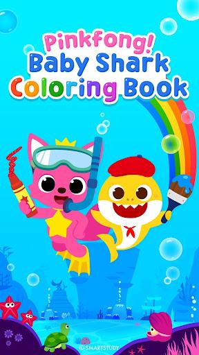 Pinkfong Baby Shark Coloring Book screenshot 1