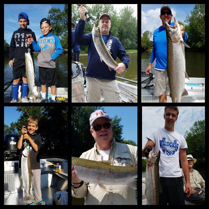 Michigan Skamania Fishing