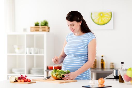 Dinh dưỡng hợp lý cho phụ nữ mang thai