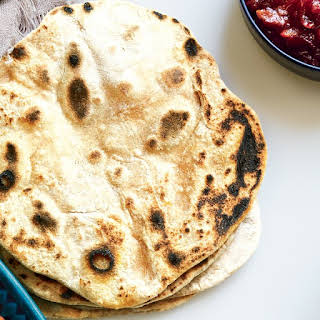 Whole Wheat Chapatis.