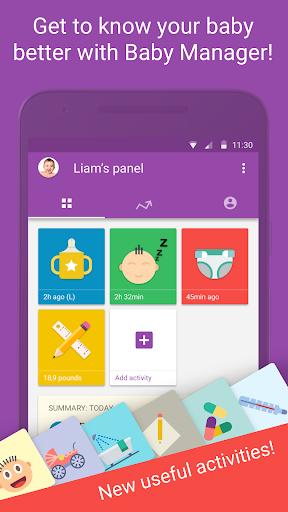 Baby Manager - Breastfeeding Tracker & Community Screenshot