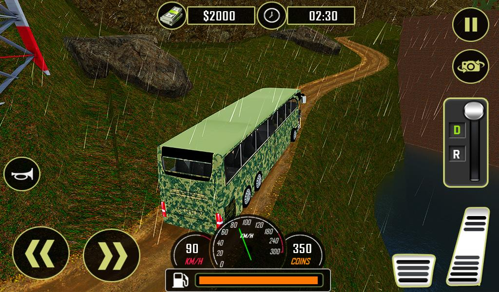 Army Bus Driver US Soldier Transport Duty 2017- screenshot