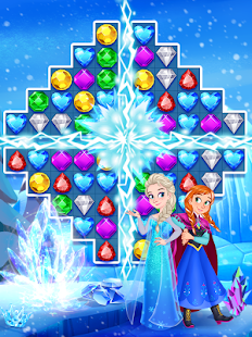 Jewels Star:Freeze Princess Screenshot