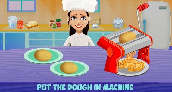 Make Pasta In Cooking Kitchen Food Maker 7