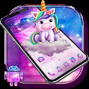 Cute little unicorn theme