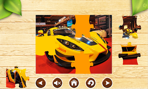 Sport Car Jigsaw Puzzles Brain Games for Kids FREE - náhled