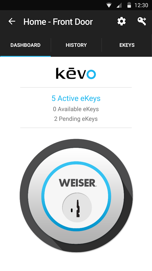 Kevo- screenshot