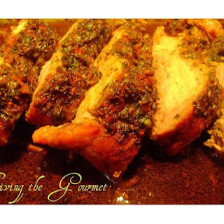 Boneless Center Cut Roasted Pork With Herbs