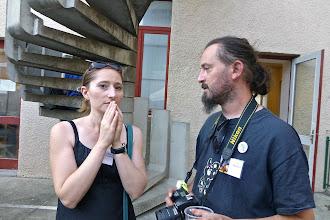 Photo: Laurianne Gourrier et Yannick Marzolf