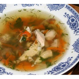 Clear & Quick Chicken Soup