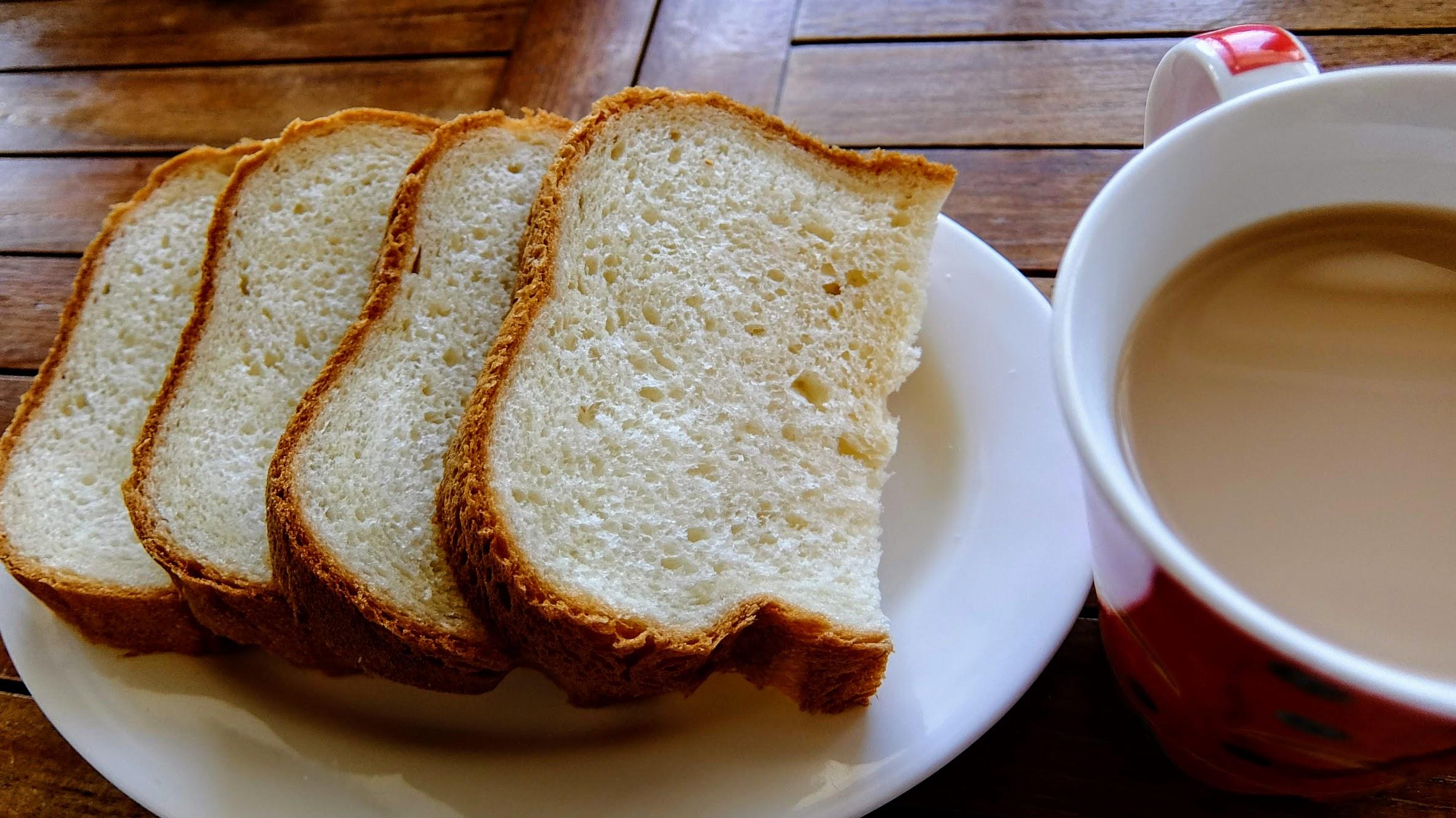 麵包是店家自製的,非常非常鬆軟啊!