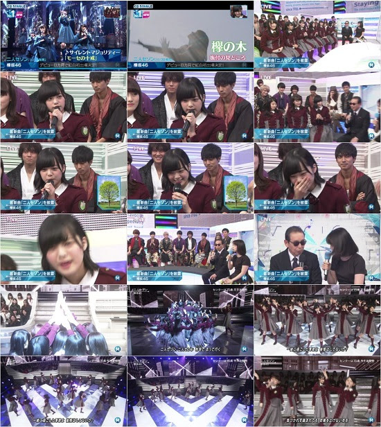 (TV-Music)(1080i) 欅坂46 Part – Music Station 161202