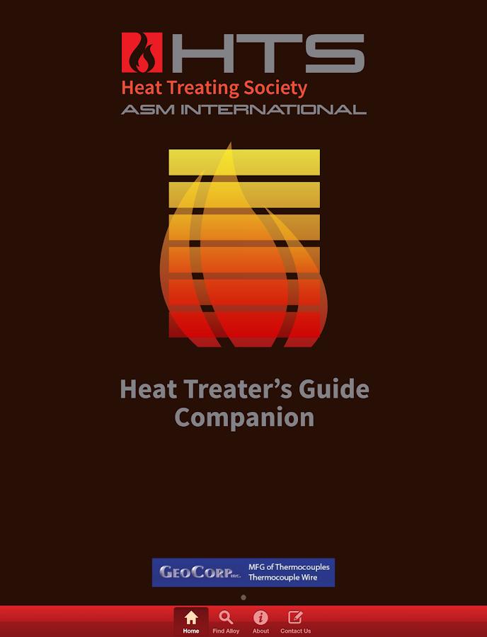 Heat Treater's Guide Companion- screenshot