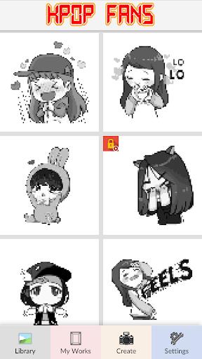 KPOP Fans - Pixel Art 6.0 screenshots 2