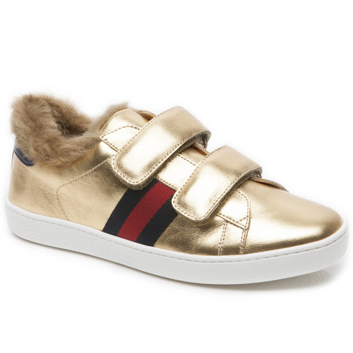 Primary image of Gucci Faux Fur Junior Trainer