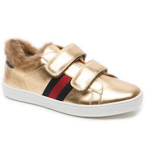 Gucci Faux Fur Junior Trainer TRAINER