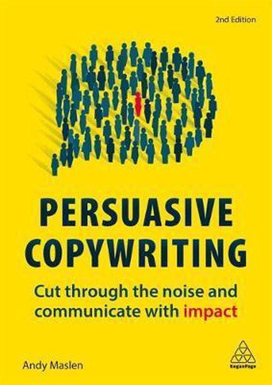 Voorbeeld boek: Persuasive Copywriting