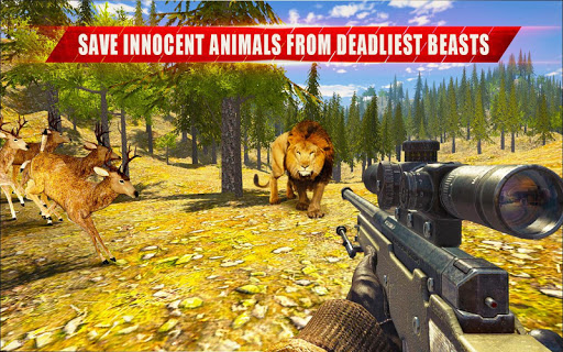 Animal Hunting Sniper Shooter: Jungle Safari apktram screenshots 6