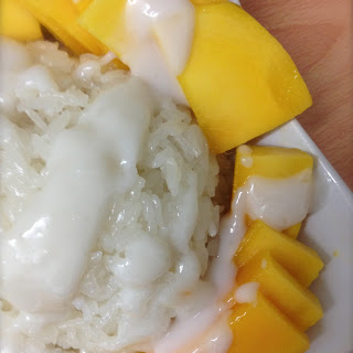 Classic Scrumptious Thai Sticky Rice With Mango